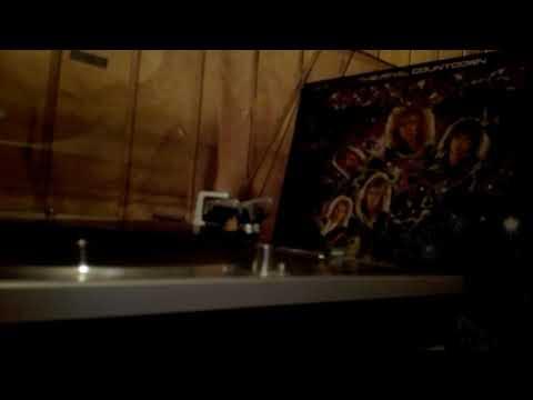 Music Attack warped vinyl - Europe Final Countdown