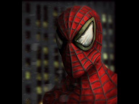 Spider-Man: Speed Sculpt and Speedpaint (Mudbox & Photoshop)