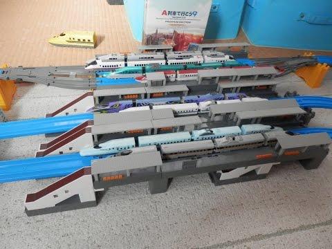 プラレールアドバンス走行動画2高層&大型高架駅