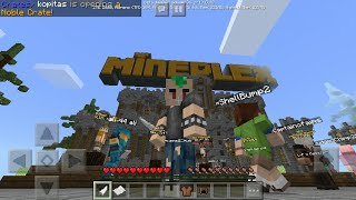 Watch me play micro battles and block hunt on the mineplex server