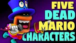 5 MORE Dead Characters from the Mario Universe