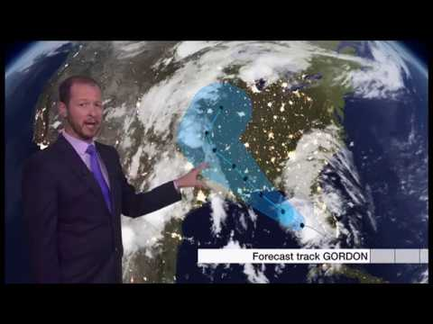 Extreme weather 2018 - Weather forecast (Global)  - BBC News - 4th September 2018