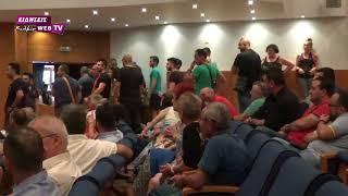 Αποδοκίμασαν στο Κιλκίς το Γ. Γ.  του υπουργείου Εσωτερικών-Eidisis.gr webTV