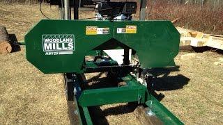 Woodland Mills Hm126 Bandsaw Mill