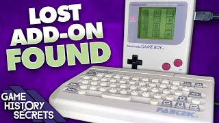 WorkBoy: Lost Game Boy Add-on FOUND After 28 Years - Game History Secrets