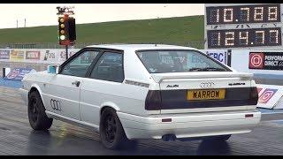 Audi Quattro B2 1/4 Mile 10.78 @ 124mph