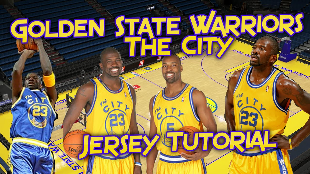 a2cdd52600df NBA 2K16  Golden State Warriors The City Jersey and Court Tutorial ...