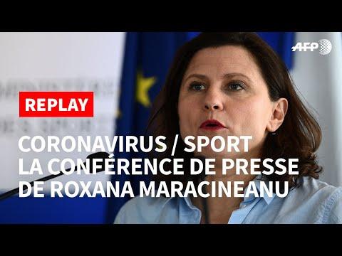 REPLAY - Coronavirus: Roxana Maracineanu fait le point sur la tenue des événements sportifs