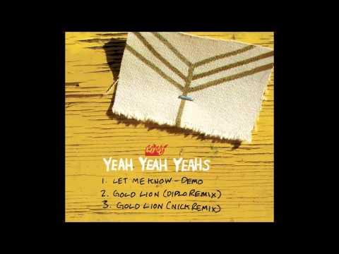 Клип Yeah Yeah Yeahs - Gold Lion (Diplo Remix)