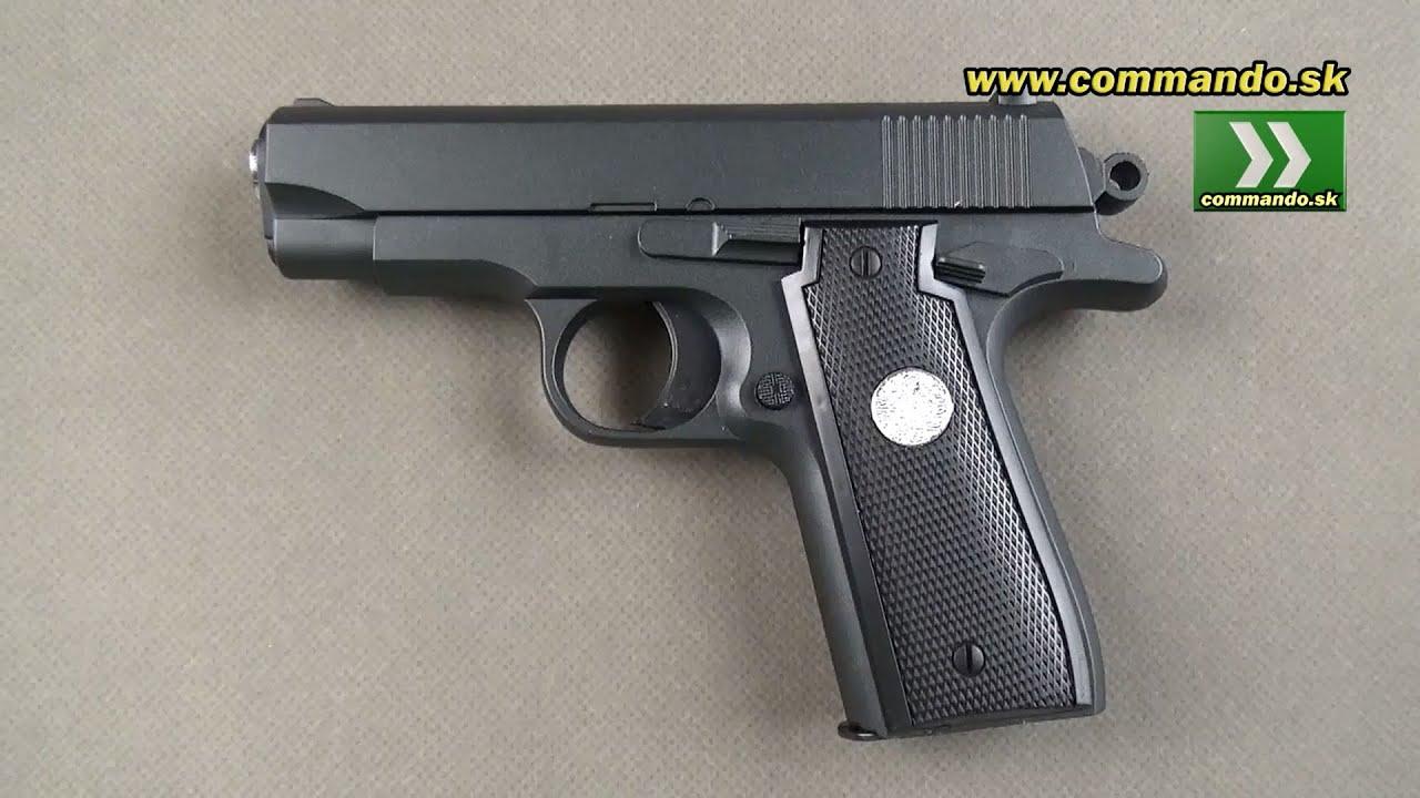 Airsoft Pistol Galaxy G2 Full Metal Spring 6mm Youtube