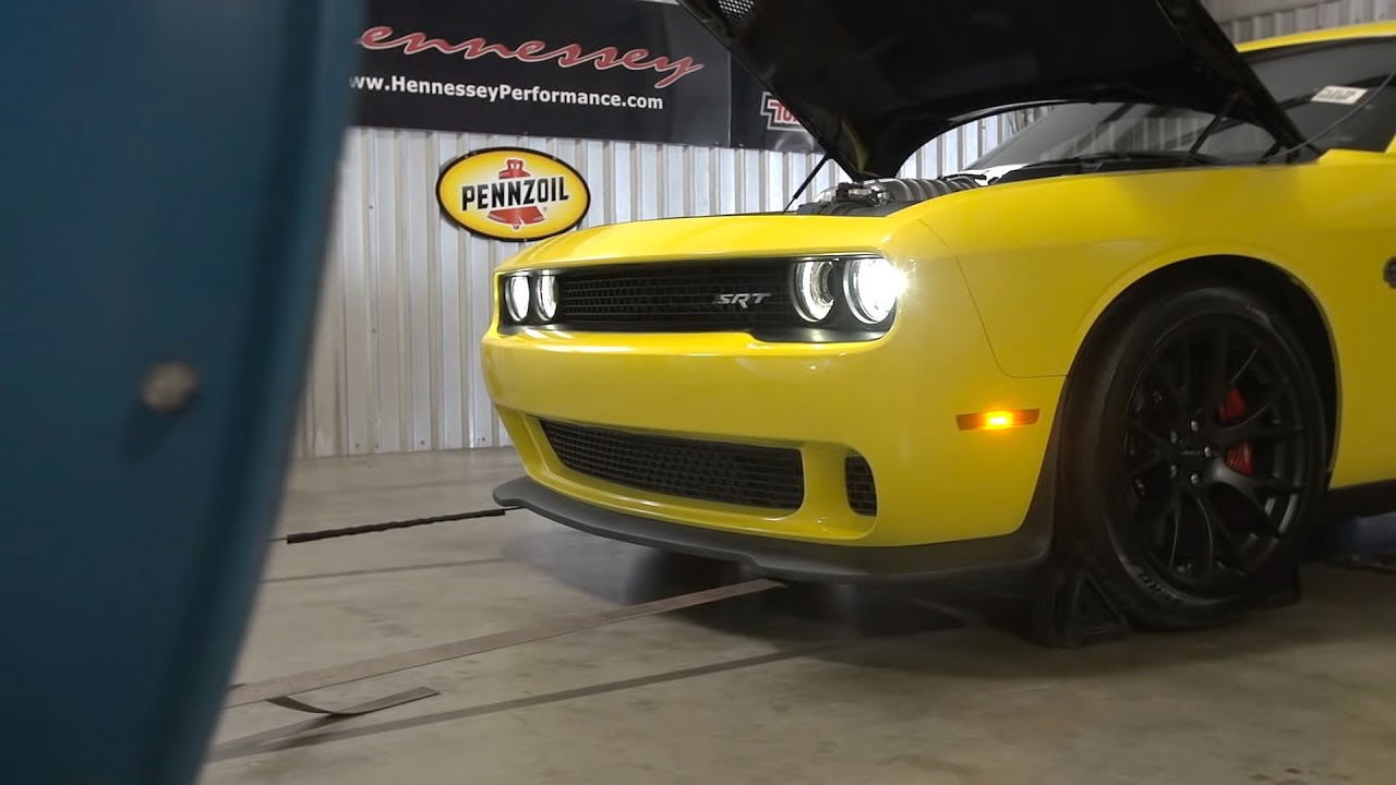 How Hennessey Lifts the Dodge Challenger Hellcat to 852hp