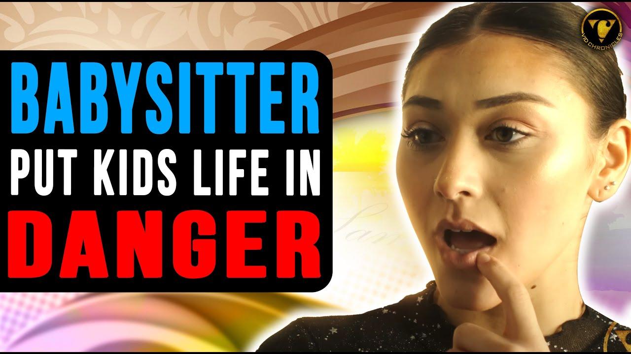 Download Babysitter Put Kids Life In Danger, She Get What she Deserves.