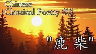 鹿柴 Lu Chai Classical Chinese Poem | Learn Chinese Now