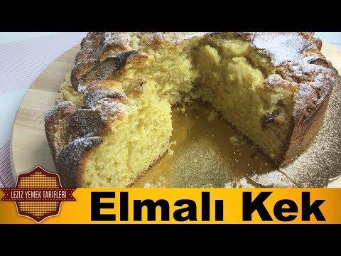 Yumuşacık Elmalı Kek Tarifi Pofuduk Elmalı Kek Nasıl Yapılır