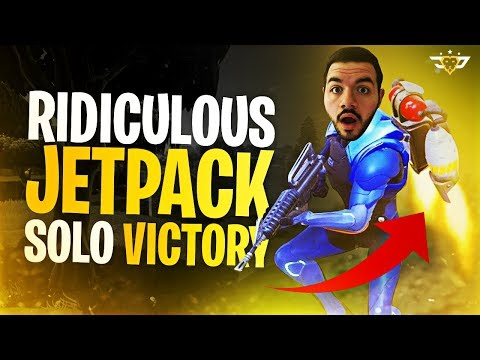 RIDICULOUS JETPACK SOLO VICTORY! - I LOVE THIS UPDATE! (Fortnite: Battle Royale)