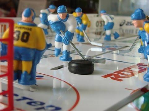 Настольный Хоккей Stiga Play Off- Товарищеский Матч - YouTube