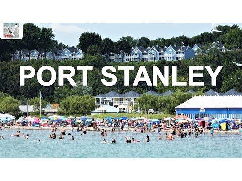 PORT STANLEY ONATRIO CANADA | BEACH | LIFT BRIDGE