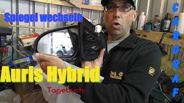 Spiegel erneuern - Toyota Auris Tagebuch