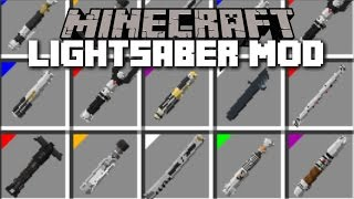 Minecraft STAR WARS LIGHTSABER MOD / GIVING YOUTUBERS THEIR LIGHTSABERS! Minecraft