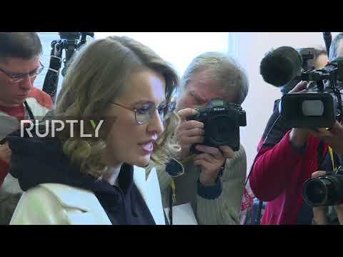 Russia: Ksenia Sobchak
