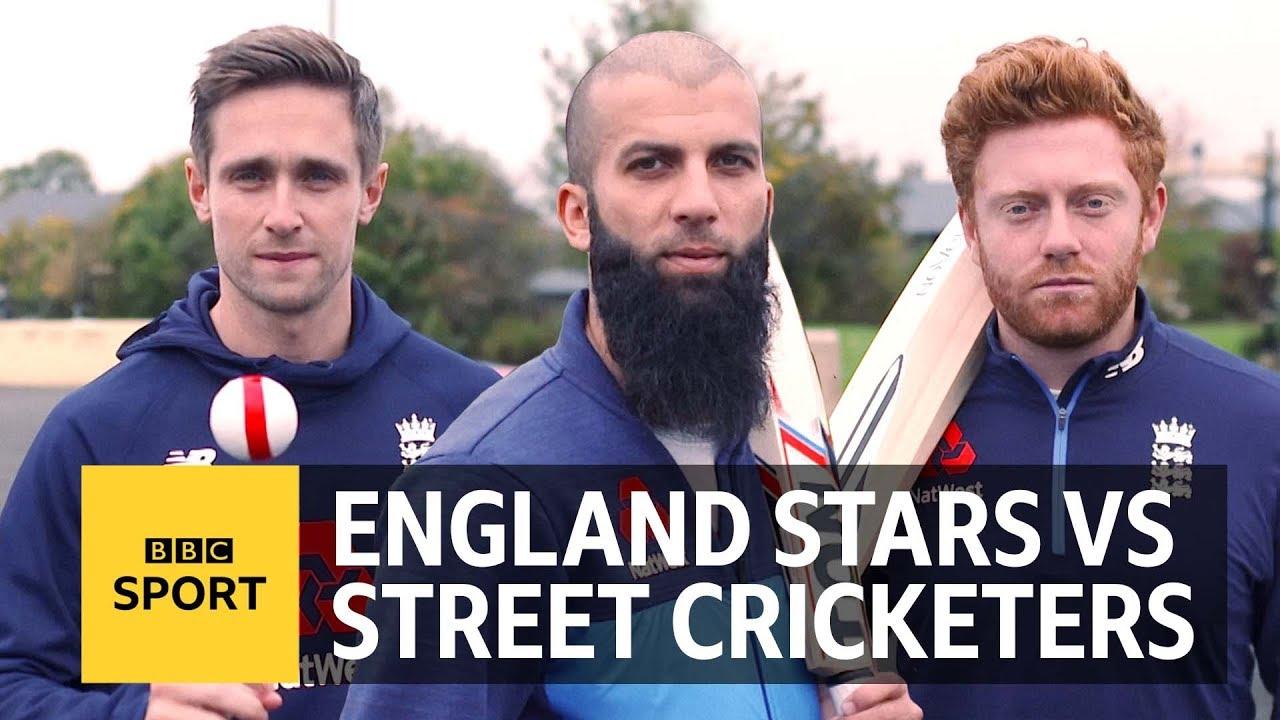 Can England's Moeen Ali, Jonny Bairstow & Chris Woakes play street cricket? | BBC Sport