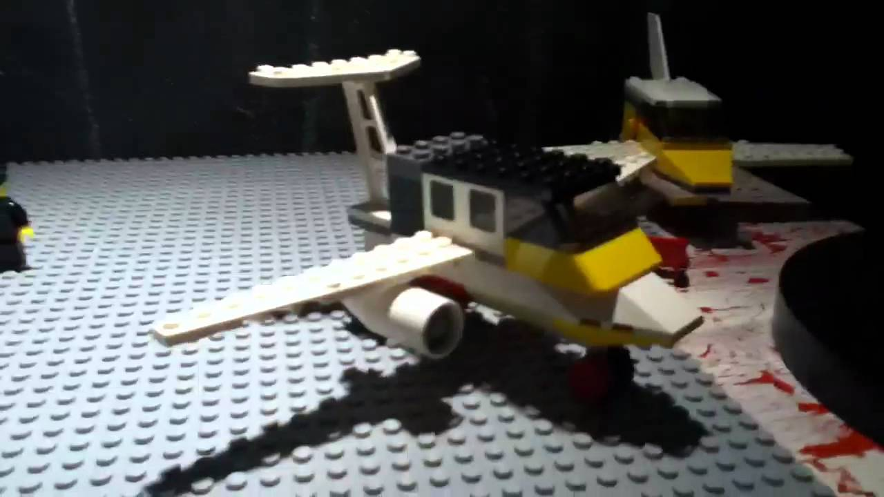 how to build a lego passenger plane