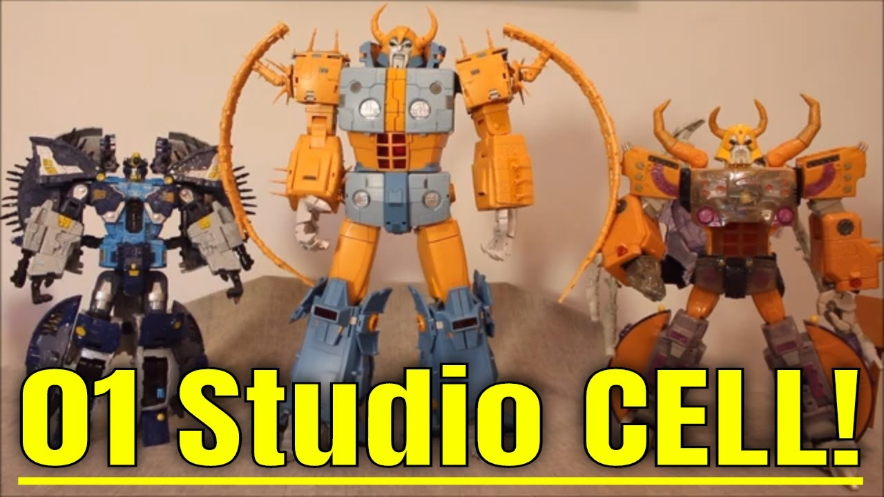 The Long, Weird Road of 01 Studio CELL with Transformation from Robot to Cell (planet) By GotBot