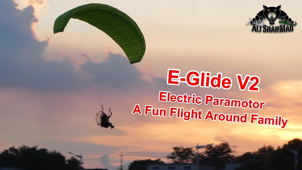E-Glide V2 Electric Paramotor - Be Free in the Skies