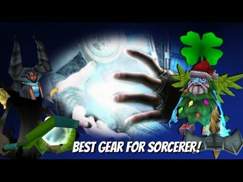 Arcane Legends - Best Gear For Sorcerer! LvL 61 /w Gilsonc