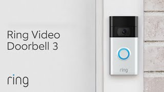 Whole-Home Security Starts at the Front Door   See, Hear & Speak to Anyone   Ring Video Doorbell 3