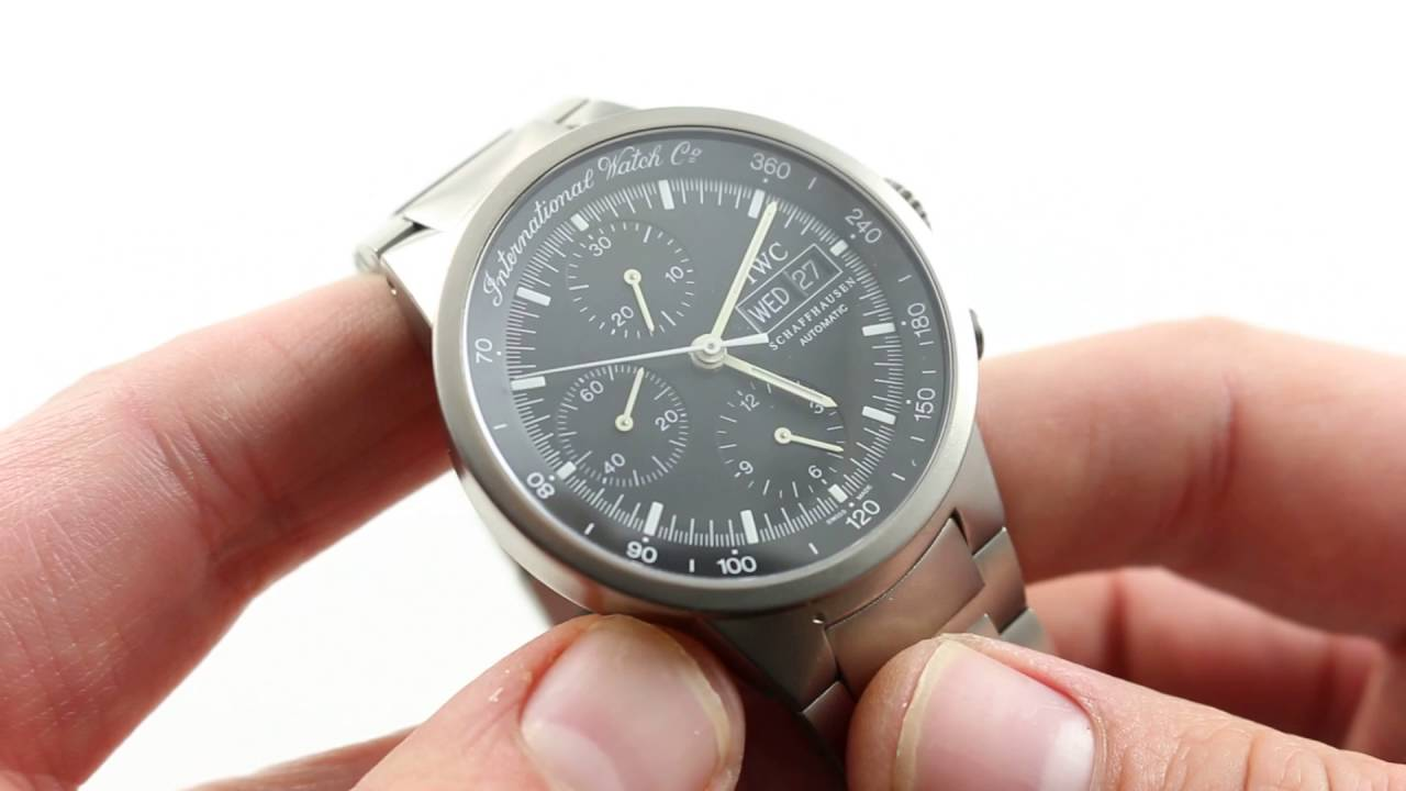 pretty nice a8586 c94d4 IWC GST Chronograph IW370703 Luxury Watch Review