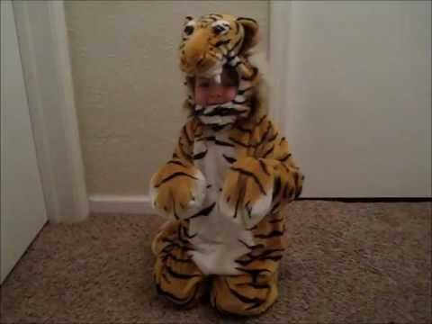 Little Soul: Tiger Costume! - YouTubeRealistic Tiger Costume
