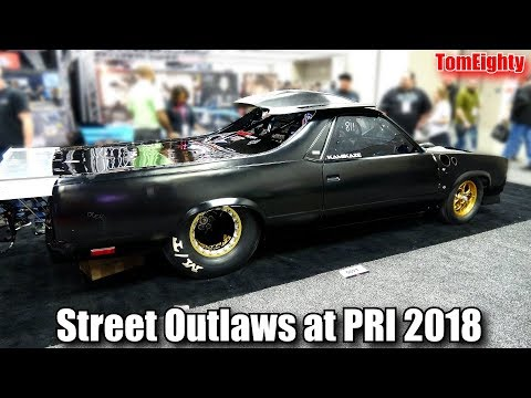 Street Outlaws at PRI 2018