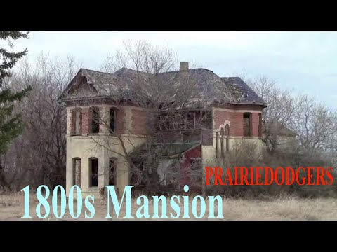 Exploring Abandoned 1800s Mansion in the Prairies Urban Exploration #30