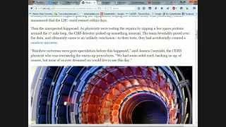 Live Chat #10: New Google Logo, CERN Rainbow Universe & Ancient Earth Dome Mythology