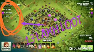 🤑Biggest Ever Loot You Think In Clash Of Clans🤑