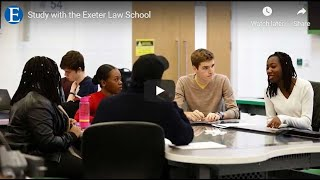 Study with the Exeter Law School thumbnail
