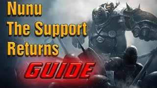 [Build Guide] How To Play Nunu Support [Season 5] - EASY AND STRONG | League of Legends