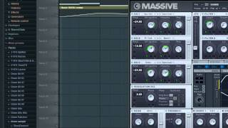 Automation Clips for NI Massive in FL Studio