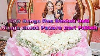 500 Jambangan Bunga Ros Di Hari Jadi Fazura Dari Fattah Amin [HD]
