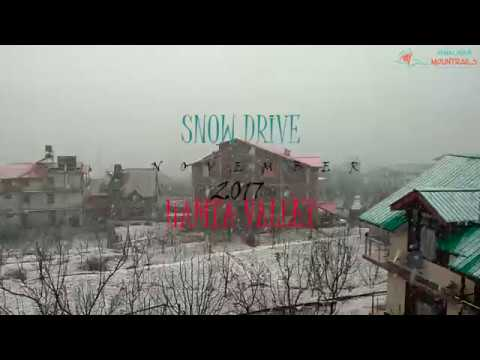 Snow drive 4x4 in Manali @ HAMTA VALLEY by || HIMALAYAN MOUNTRAILS ||