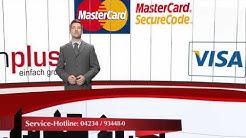 32) schuhplus: Bezahlung Sicherheitssystem Kreditkarte MasterCard securecode und Verified by VISA