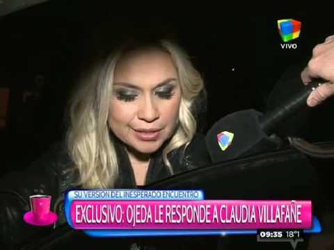 Exclusivo: Verónica Ojeda le responde a Claudia Villafañe