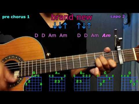 Brand new ben rector guitar chords