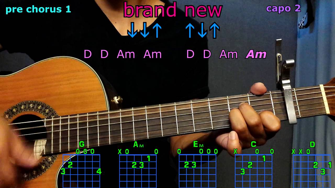 Brand New Ben Rector Guitar Chords Youtube