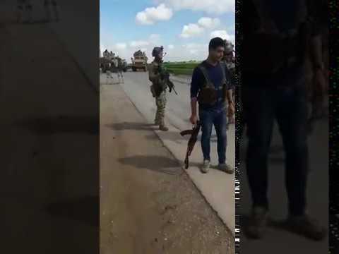U.S. Troops Dumped Russian Convoy In Syria