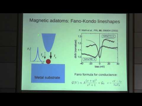 SPICE MAQM Workshop - David Jacob - Competition between Quantum Spin Tunneling and Kondo Effect