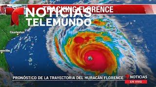 EN VIVO: Pronóstico de la trayectoria del huracán Florence (sin audio)