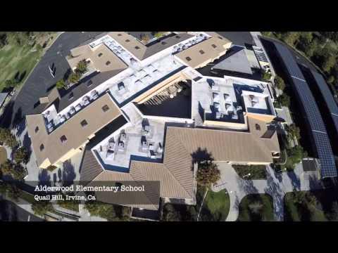 Alderwood Elementary School Orbit Shot