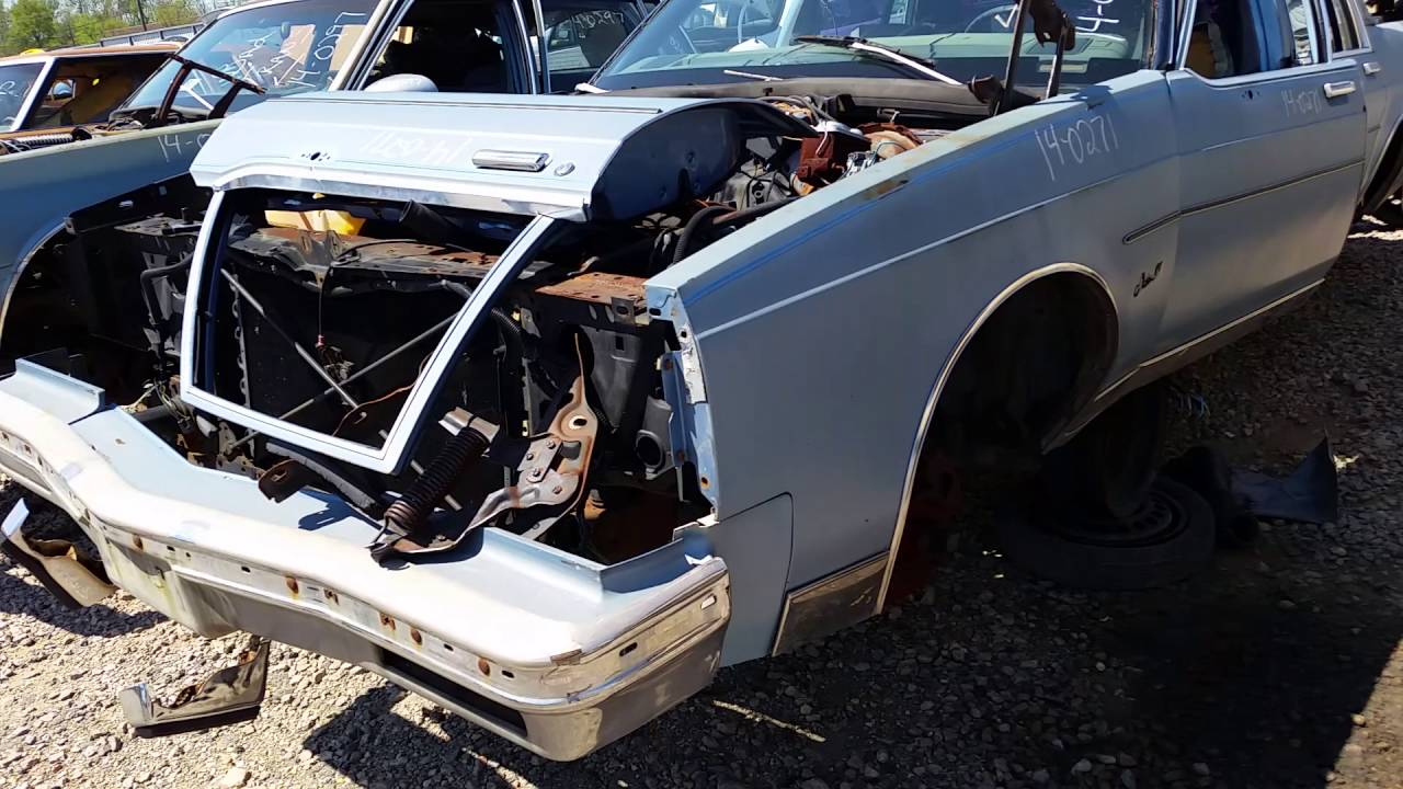 1979 Buick Electra coupe at Pop\'s Pick And Pay junkyard in ...